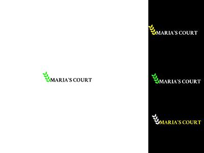 MARIA  1 logodesign design figma floral decor bouquet flower shop flower logo flowers