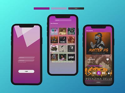 music player app ui design userinterface spottie artists song music player music app music