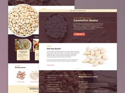 CannelliniBeans.com Update