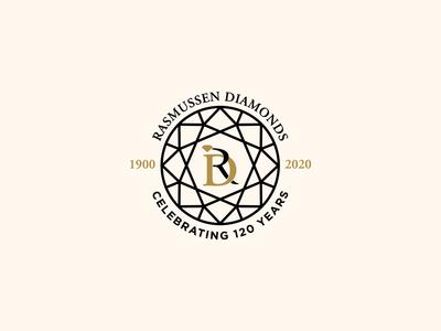Rasmussen Anniversary Logo