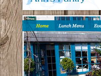 Cafe & Restaurant Website