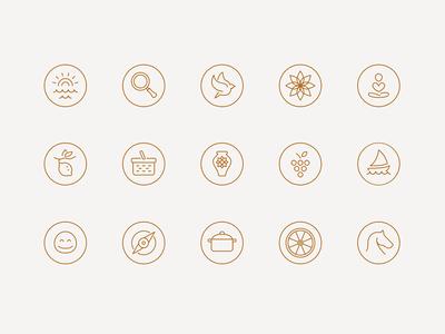 Barrocal Icons