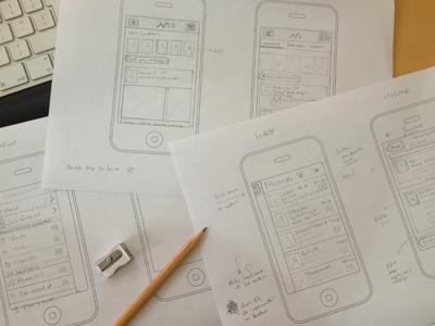 App Sketch Wireframe app sketch wirefrmae