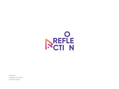 REFLECTION (Media production logo) camera film media logo media company logo design creative logo