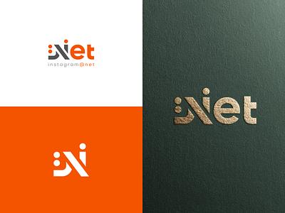 Net Logo logo design booking simple shopping restaurant offers n letter modern logo marketing logodesign inspiration illustrator identity booking.com hotel discount creative design branding advertisment advertise