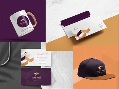 Brand Identity Design | United White logo designer designer identity business card mug brand identity stationary simple design branding agency t-shirt hat kitchen company creative inspiration branding logo design brand logo