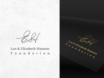 Leo and Elizabeth Hannet foundation logo design. logo branding design branding agency educational logo design agency logo designer logo design process logo design branding logo design logo design concept