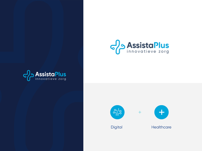 AssistaPlus logo vector brand agency branding brand logo design logo design designer logo