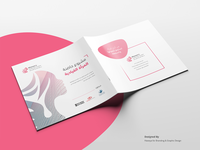 "brochure design for ""leading woman project"""