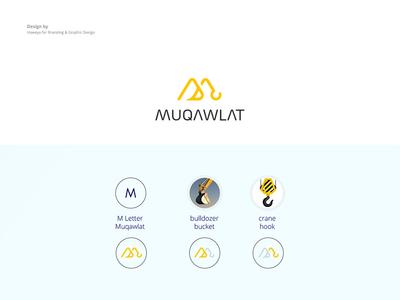 Muqawalat Logo construction company logo design