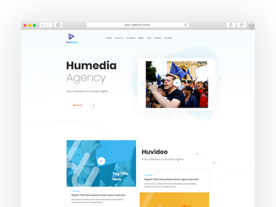 Humedia website deisgn london platform media human rights human colorful ui website concept web design website design illustrator creative