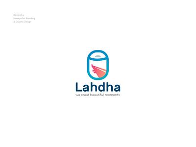 Lahdha Logo tour tourist tourism sky creative logo designer illustrator logo design logo logodesign travel app transition plane travel
