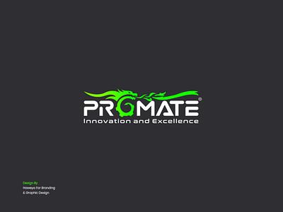 PROMATE Logo Design games game design game inspiration logo design branding vector illustration simple logo design creative brand design logo