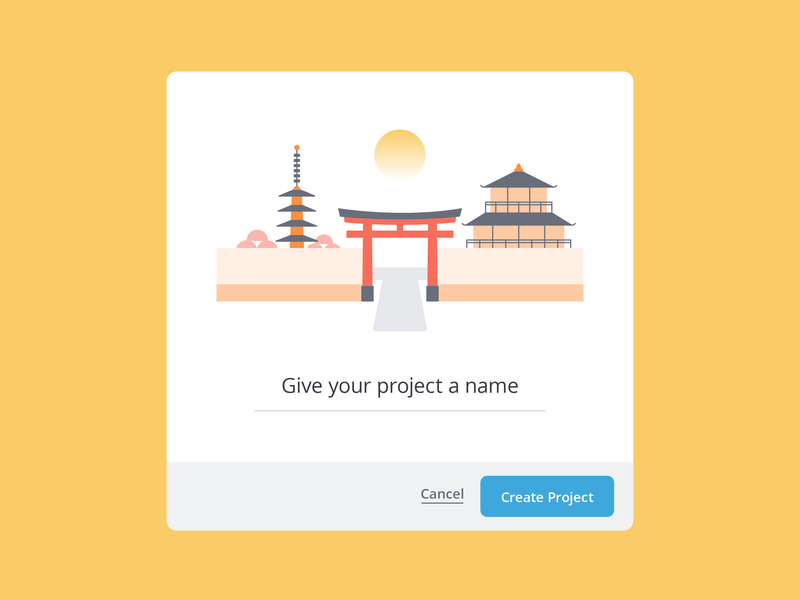 New Project Modal