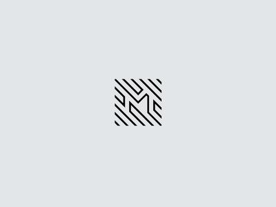 M — Logo design