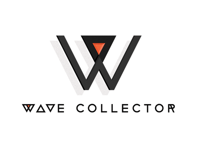 The Wave Collector logo update hendeca downtempo portland electronic music logo the wave collector