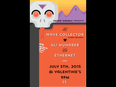 Wave Collector Show Poster