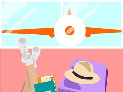 Traveling graphic design design