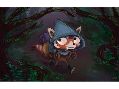 Red Panda Adventurer