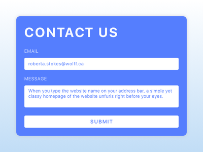 Contact Us Form illustration sketch day28 dailyui modal popup form contact us