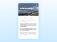 Blog Post iOS App