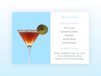 Recipe Modal/ Popup