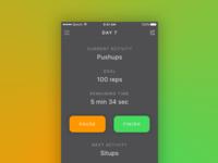 Workout Tracker iOS App