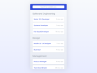 Job Listings iOS App