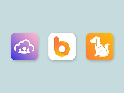 Logo design for Appstore/ Google play vector icon ux ios branding ui logo interface digital design