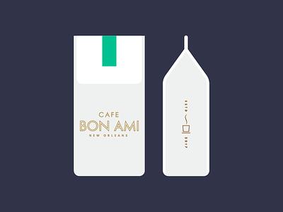 Cafe Bon Ami pt II bag bon steam cup beans cafe brand coffee
