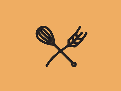 Whisk and Wheat mix icon x grain