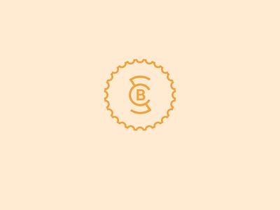 Second Chance Bikes pt. I pedal orange monogram sc scb bicycle shift hub wheel gear