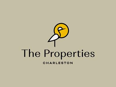 The Properties property real estate marsh heron bird sun egret charleston