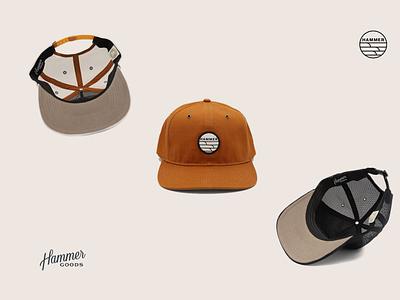 Hats for Hammer Goods patch goods hammer surf wave hat charleston