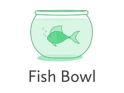 Fishbowl  fishbowl fish illustration