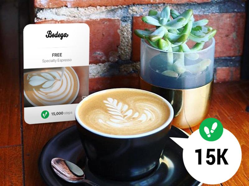 Fit For Bucks -  Bodega Card Promo social media uxui app design graphic design