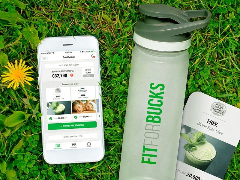 Fit For Bucks - Summer Event social media uxui app design graphic design