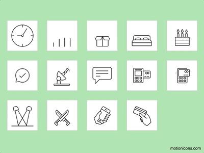Motion Icons v1.4.0! 🎉