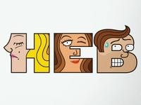 MyHEB Type Characters