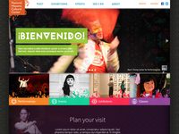 National Hispanic Cultural Center Landing Page