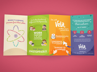 Vela - Accordion-fold brochure (rear)