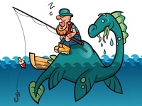 Nessie and Fisherman