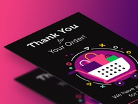 Thank You page - UI card