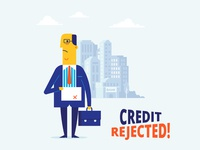 Credit Rejected