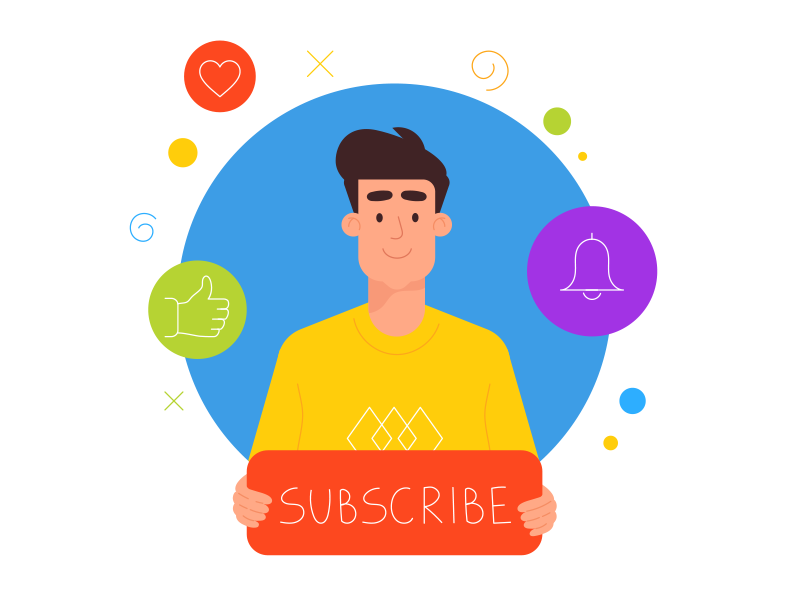Youtuber dreams by Oleg Zodchiy on Dribbble