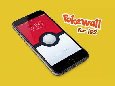 Pokéwall Wallpaper for iOS nintendo wallpaper lock screen ipad iphone mobile ios pokémon pokemon gaming
