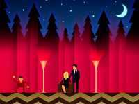 Twin Peaks Wallpapers for iOS graphic wallpapers laura palmer cooper abc tv mystery showtime twin peaks