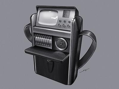 Star Trek TOS: Tricorder scifi ios ipad linea sketch linea pencil star trek