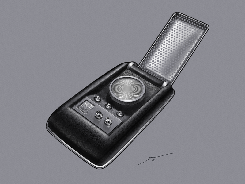 Star Trek TOS: Communicator by Gedeon Maheux on Dribbble