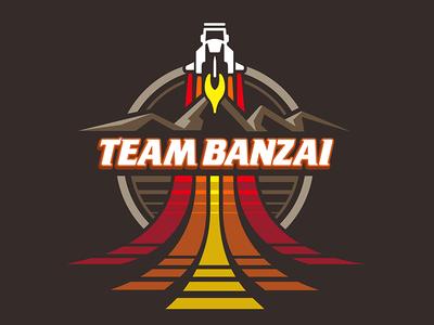 Team Banzai T-Shirt teepublic nasa logo scifi t-shirt movies 80s emblem banzai buckaroo banzai buckaroo